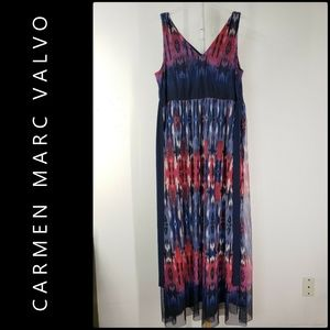 Carmen Marc Valvo Woman Sleeveless Dress Size XL
